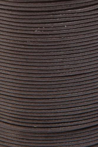 Bastelschnur Schmuckband Kordel, gewachste Baumwollschnur