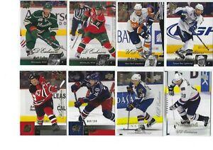 UD-Upper-Deck-Exclusives-lot-of-8-Base-cards-100-Naslund-Madden-Cullen-L-k