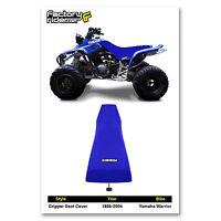 1986-2004 Yamaha Warrior All Blue Gripper Seat Cover Made By Enjoy Mfg