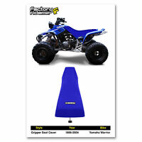 1986-2004 Yamaha Warrior All Blue Gripper Seat Cover Made By Enjoy Mfg