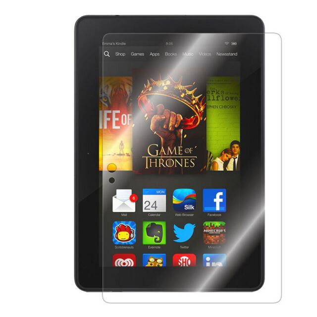 1 HD Clear Screen Protector Guard Cover Skin Film Foil for Kindle Fire HDX 7 WG