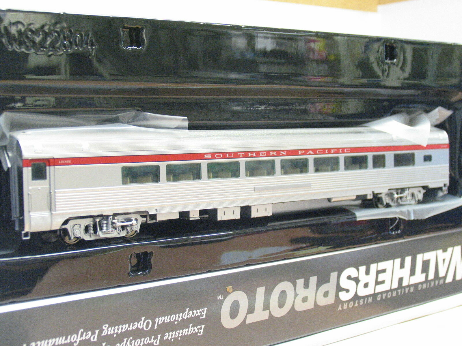 Walthers proto h0 920-13008 85' Budd 1-Drawing Room Southern Pacific OVP  q4754