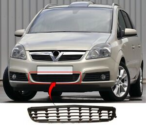 Vauxhall Zafira 2005 to 2007 Ft Bumper Grille Centre Centre