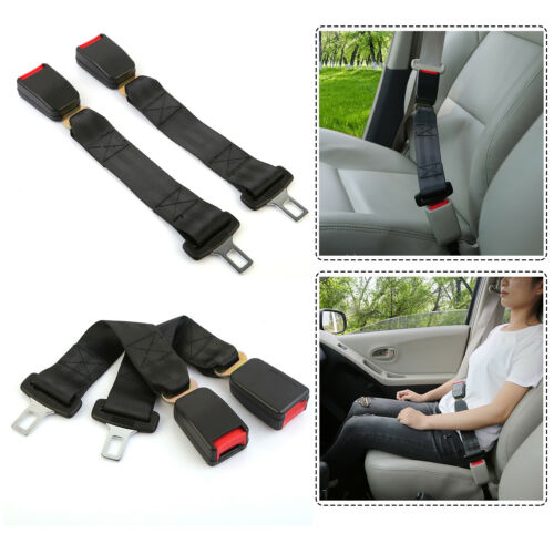 2pcs 14/'/' Car Seat Seatbelt Safety Belt Extender Extension Buckle Universal USA