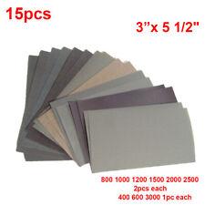 50pcs Klettverschluss Schleifscheibe Schleifen Polierpapier Pads Schleifpapier zum Schleifen und Polieren 75mm 400#