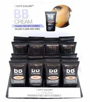 City Color Bb Cream Paraben Free With Vitamin E-light, Medium, Dark Skin Tones