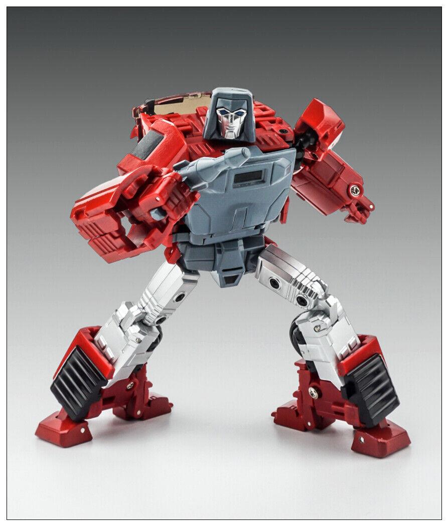 Nuovo Transformers giocattolo X-Transbots MM-VI Boost G1  Windcharger TEAL Comic Ver.  qualità garantita