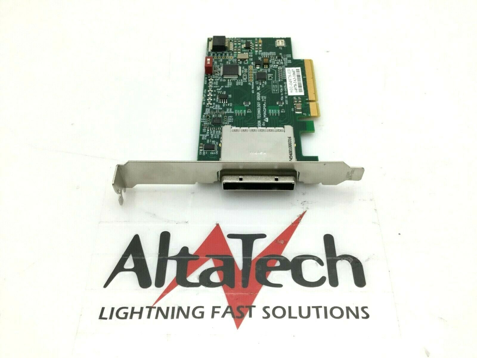 MAGMA Full Height PCI-e x8 Gen 2 SCSI Expansion Link Card 03-04978-03 - Tested