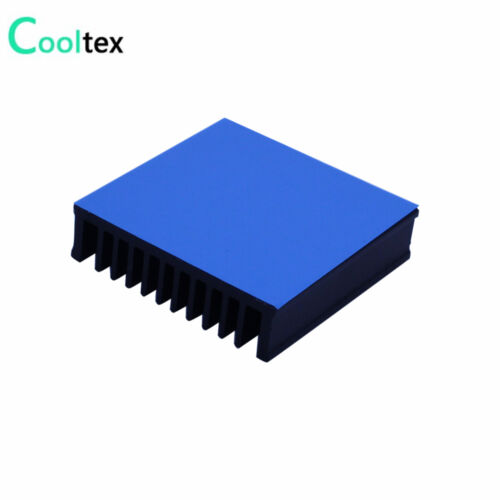 Aluminum Heatsink 50x50x12.8mm Heat Sink Radiator Cooling With Conductie Tape