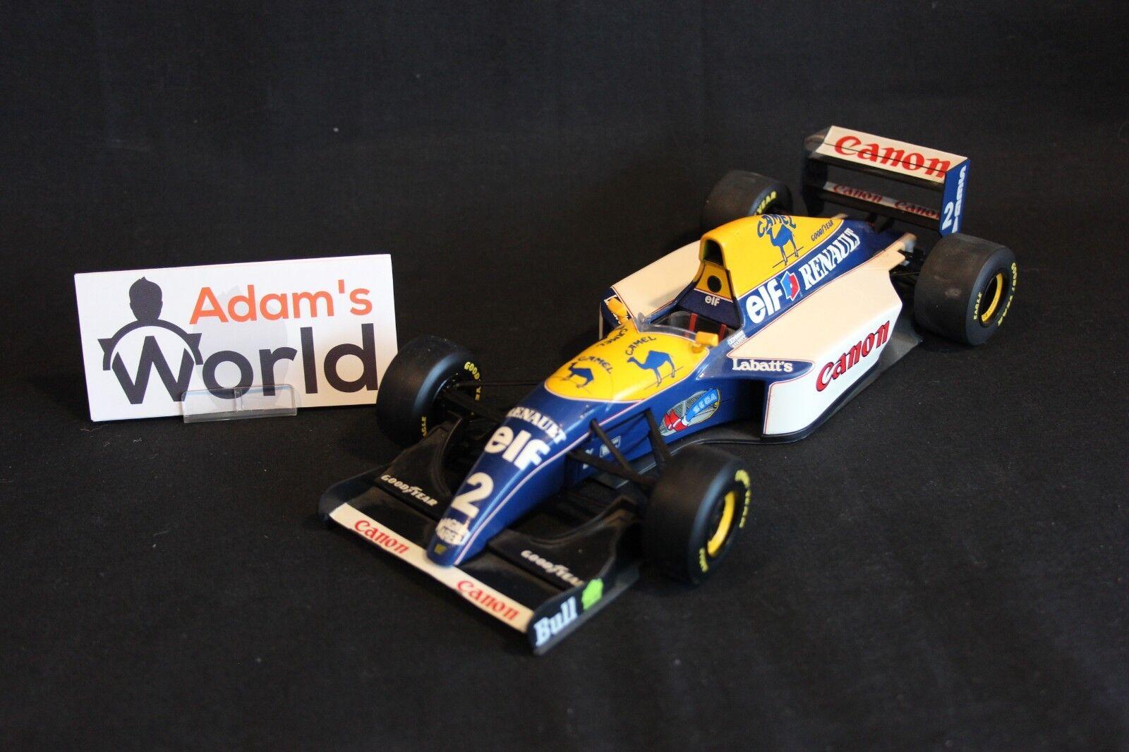 comprar ahora Minichamps Minichamps Minichamps Williams Renault FW15 1993 1 18  2 Alain Prost (FRA) (MM1) CAMEL  tomamos a los clientes como nuestro dios