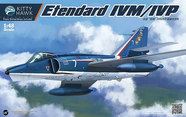 Kitty Hawk Model 1 48 Dassault Etendard IVP IVM
