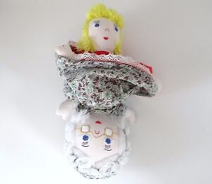 Image Is Loading Vintage Plush Doll Topsy Turvy Little Red Riding