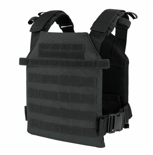CONDOR MOLLE Sentry Lightweight Plate Carrier Nylon Vest 201042-002  BLACK 6094