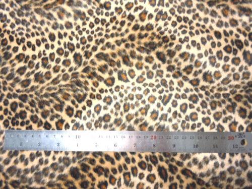 Ff07a Faux Fur Brown Leopard Skin Print Cushion Cover//Pillow Case*Custom Size