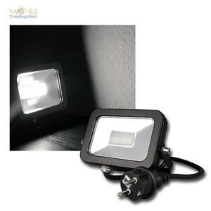 LED-Proyectores-Liso-Luz-Solar-780lm-10w-IP44-proyector-exterior-FARO-FOCO