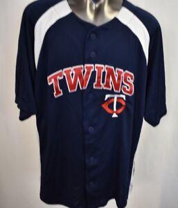 d32c943a4 Image is loading MLB-Genuine-Merchandise-Youth-Minnesota-Twins-Baseball- Jersey-