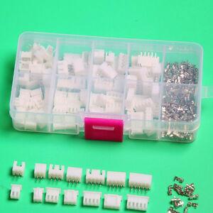 Micro JST 2.5 2 3 4 5pin conector hembra conector clavija & crimps x 40 juegos