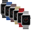 Apple-Watch-Series-3-42mm-38mm-Stainless-Steel-Aluminum-With-Milanese-Loop thumbnail 1