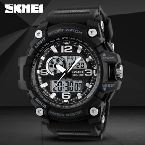 5711c89e8f056 Image is loading SKMEI-Fashion-Sports-Men-Digital-Quartz-Wrist-Watch-