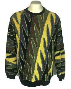 Tundra-HERREN-Pullover-XL-Bill-Bill-Cosby-Coogie-90-039-s-Style-Vintage-3d-Biggie-Hip-Hop
