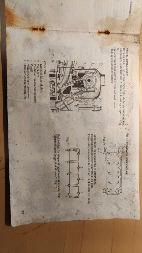 Instruktionsbog for Lada Classic.