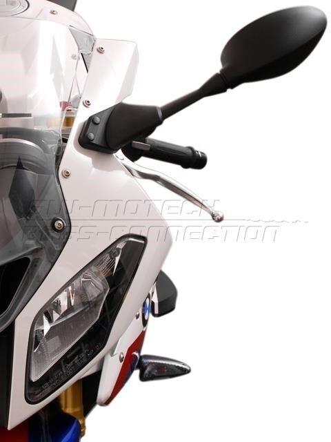Spiegelverlängerung BMW S 1000 RR ab Bj 10 Verbreiterung Motorrad SWMotech NEU
