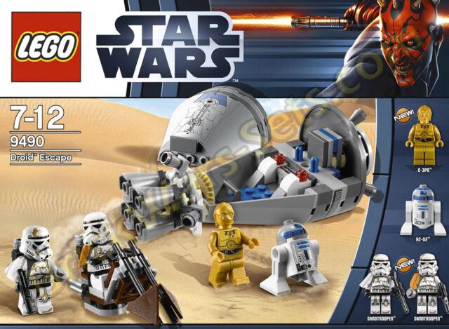 Lego Star Wars Droid Escape 9490 Ebay