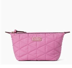 Kate-Spade-Brand-New-wilson-road-quilted-jodi-Wallet-pink