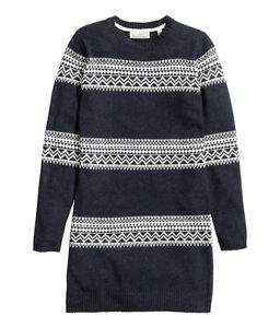 60% Freigabe neue sorten Sonderpreis für Details zu H&M ALPAKA NORWEGER WOLLE STRICKKLEID PULLOVER WOOL KNIT DRESS  SWEATER JUMPER S