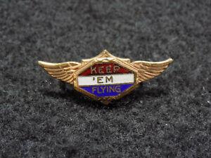 WWII-Era-Patriotico-Eeuu-Air-Corps-034-Mantener-039-em-Vuelo-034-Alas-Pin