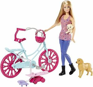 BARBIE SPIN N RIDE PUPS DOLL & PLAYSET GREAT PUPPY ADVENTURE *NU*
