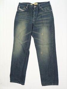 Herrenmode Hingebungsvoll Diesel Industrie Herren Jeans 32x32 Baumwolle Linien Mischung Jeans Kratt Erfrischung Jeans