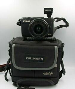 Fotocamera Canon EOS M10 mirrorless digitale + obiettivo 15-45 is stm + borsa