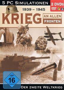 1939-bis-1945-Krieg-an-allen-Fronten-5-Simulationen-GameBox-fuer-Pc-Neu-Ovp