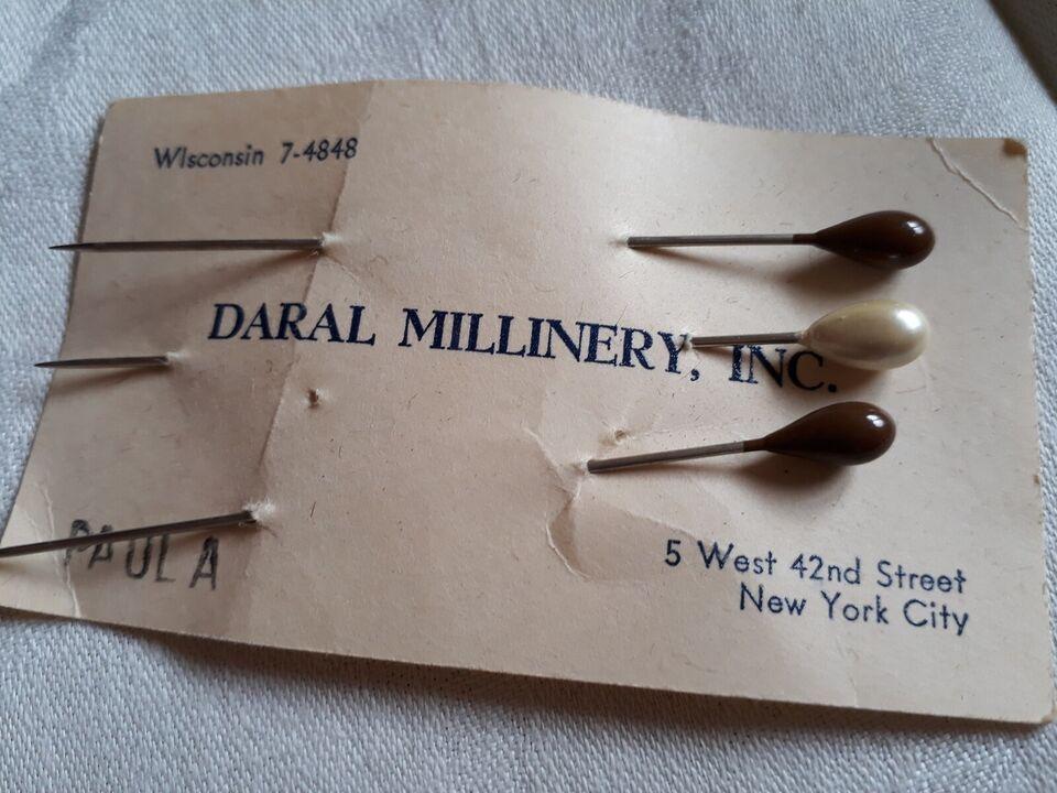 Hat, Vintage Hatte , Amerika Daral Millinery INC New York