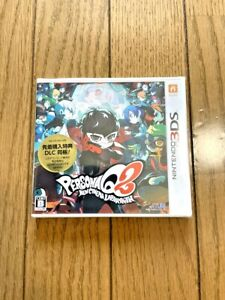 Brand New Persona Q2: New Cinema Labyrinth --  (Nintendo 3DS, 2019) From Japan