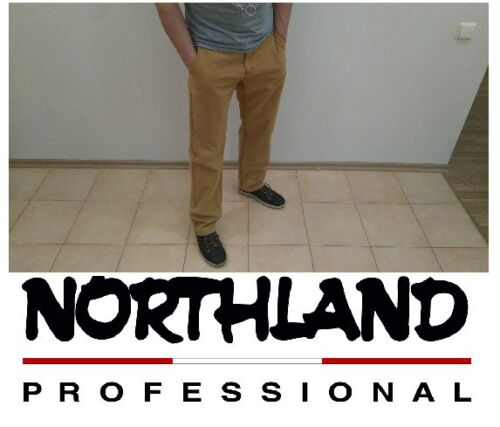 New NORTHLAND Professional Mens Chinos Trousers Pants Size 29 30 31 32 33 34 38