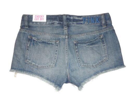 Blu donna Secret Cut Shorts da Victoria's Nwt Pink Sz Jeans Cheeky 2 W8IxqH