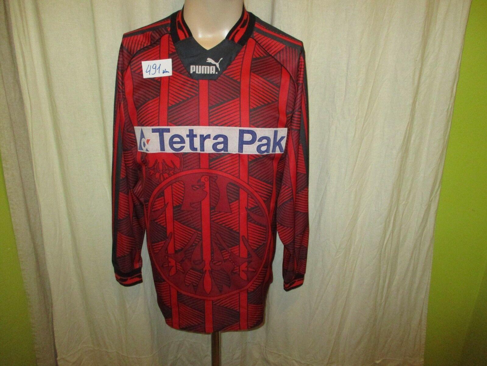 Eintracht Frankfurt Original Original Original Puma Langarm Trikot 1995/96