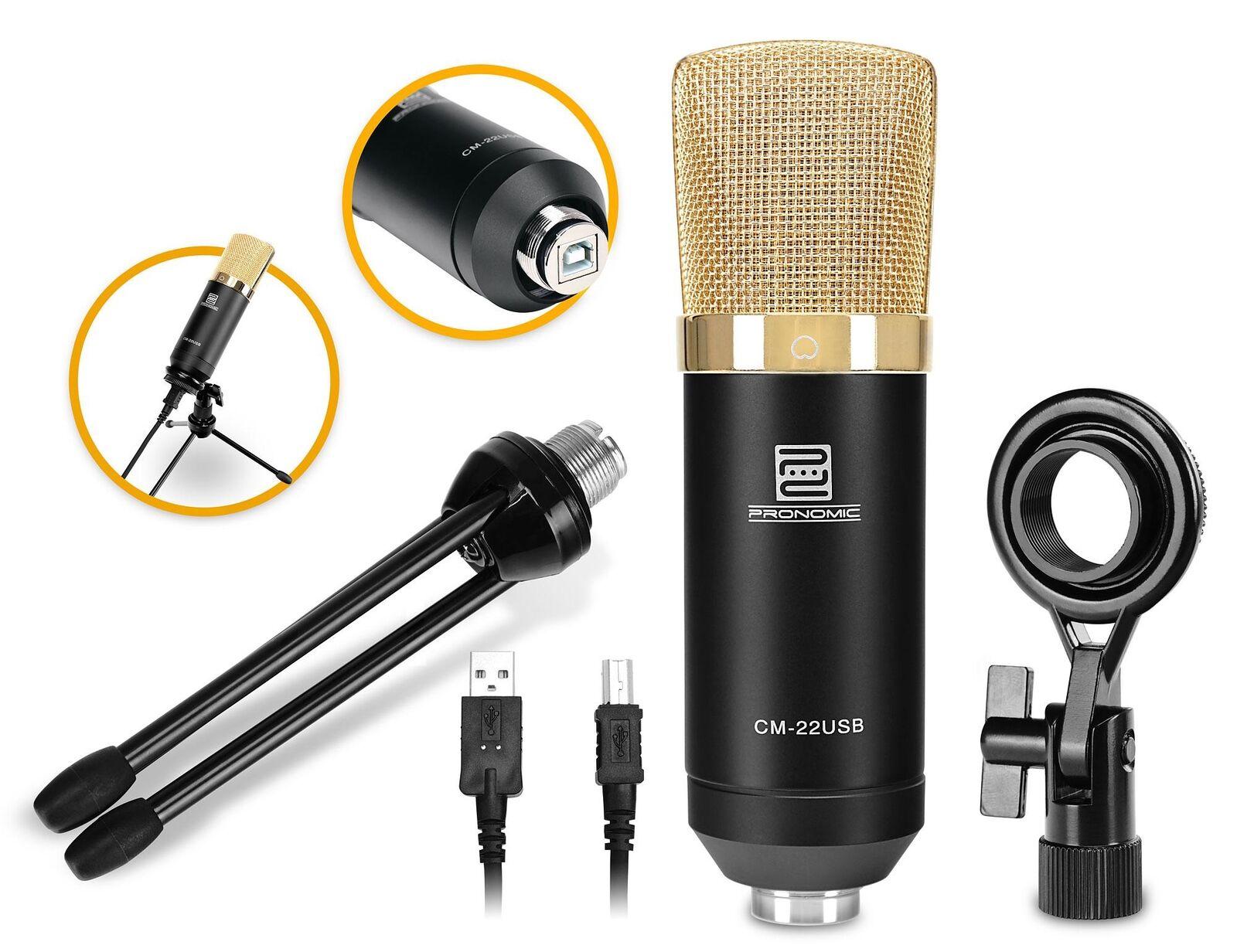 Profesional USB grande membrana-micrófono membrana-micrófono membrana-micrófono de estudio con trípode para win ios & android  100% garantía genuina de contador