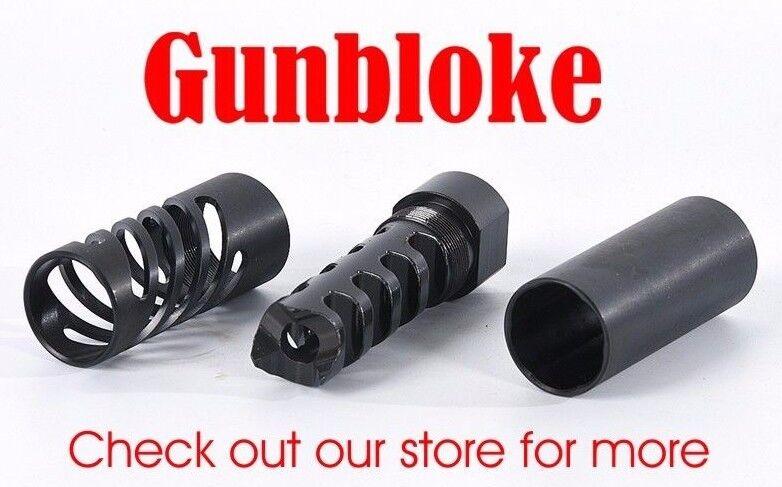 TIKKA SAKO Muzzle brake 14x1mm QUAD-TAC-PLUS - any cal