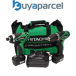 Hitachi Hikoki Impact and Drill Driver Twin Pack 10.8-Volt Li-Ion KC10DFL