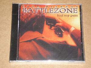 PAUL-DI-039-ANNO-039-S-BATTLEZONE-FEEL-MY-PAIN-CD-SIGILLATO-SEALED