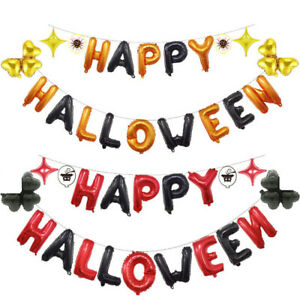 Happy-Halloween-Banner-Bunting-Garland-Pennant-Flag-Hanging-Party-Decoration-UK