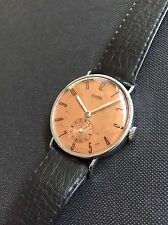 Gorgeous! 1940s Nivrel Vintage Swiss Mens Watch