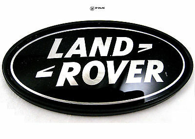 Range Rover L322-Negro sobre Plateado Land Rover Insignia DAH500330