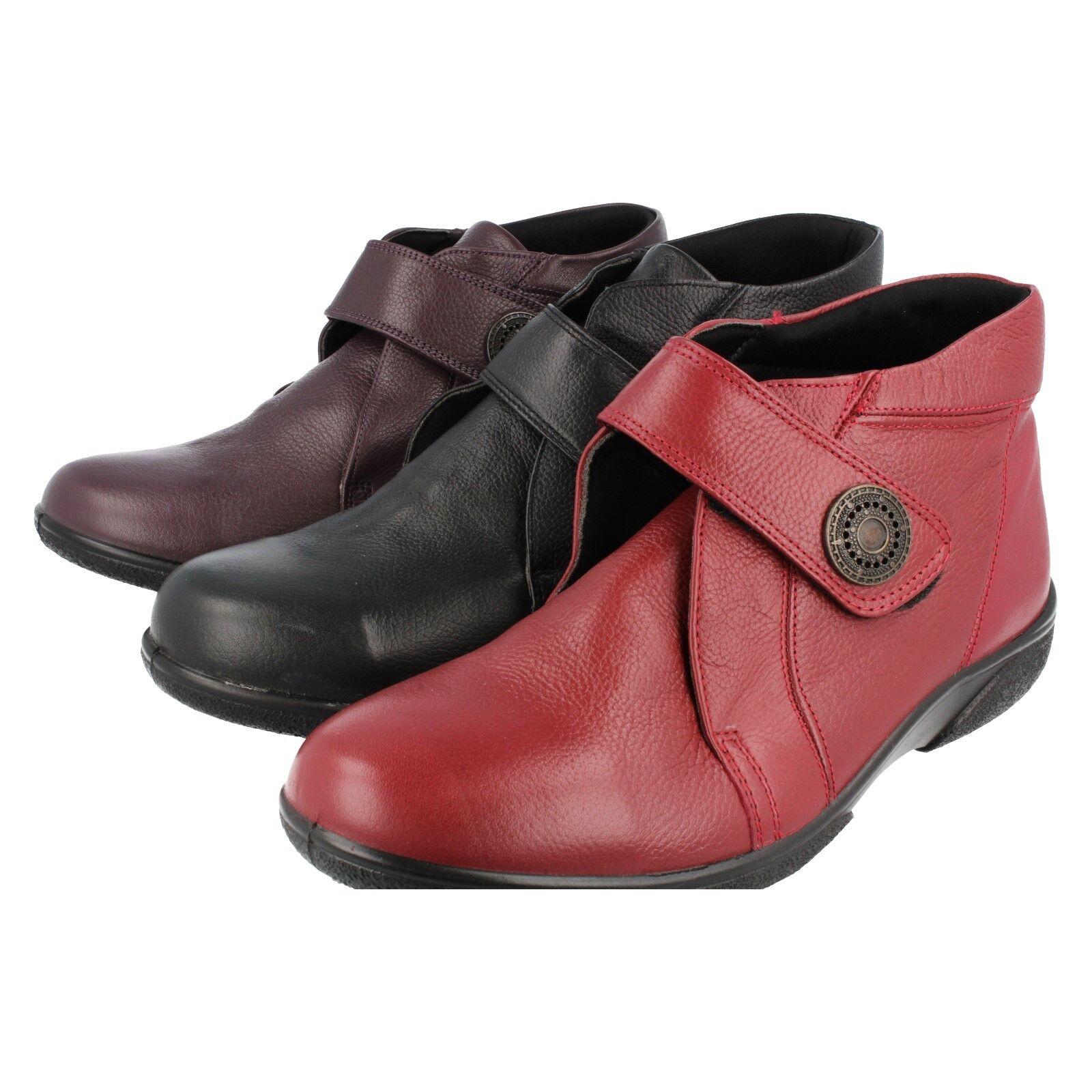 Easy B women black red Vineberry Stivaletto in pelle Doris