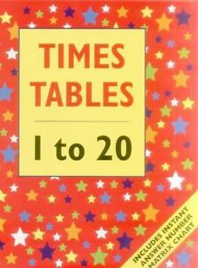 Times Table - 1 to 20 : Includes Instant Answer Number Matrix Chart by  Armadillo Publishing Staff (2015, Paperback)