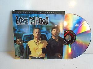 BOYZ N THE HOOD Criterion Collection Laserdisc LD 1991 Singleton EUC