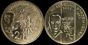 Pologne. 2 Zloty. 2009 (Pièce KM#Y.705 Neuf) Peintre-Wladyslaw Strzeminski